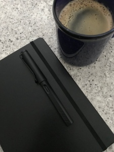 Coffee, pen, & journal